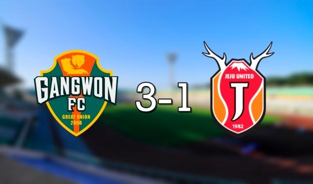 Gangwon 3-1 Jeju