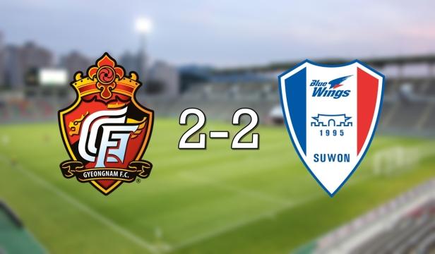 Gyeongnam 2-2 Suwon