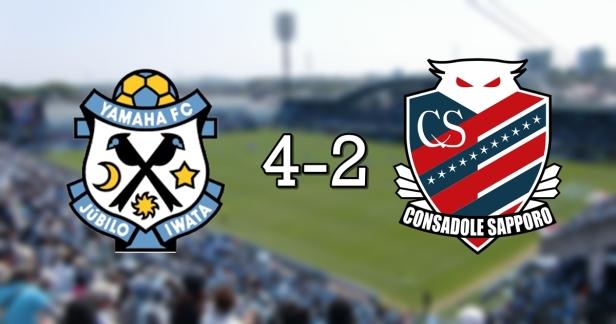 Iwata 4-2 Sapporo