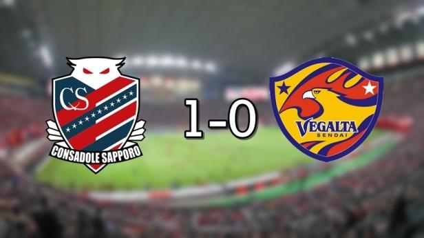 Sapporo 1-0 Vegalta