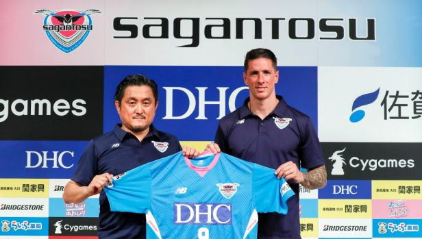Spanish striker Fernando Torres joins Japan's J.League club, Sagan Tosu