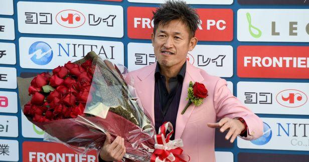 Kazu Miura ktoś w rodzaju celebryty
